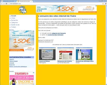 Sites Isere